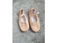Ballet shoes size 10.5 and tap shoes size 9