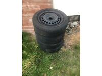 Car wheels and tyres