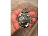 """Diesel """"Baby Daddy"""" Watch - RRP £229 - Superb Condition - Worn Less than 5 times"""