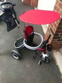 Children's red avico trike