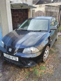 Seat Ibiza 1.4 TDI Ecomotive SPARES & REPAIR £0 TAX