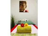 Thai massage and relaxing 1 hr £40, waxing starting from £25 ,shower and free parking .Chester .