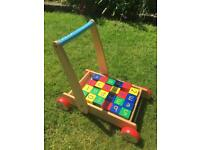 Mothercare Baby Walker with bricks