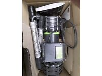 Unused 3 bar twin Salamander pump for sale. Has been taken out of box once but never fitted or used.