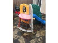 FREE DELIVERY LITTLE TIKES TYKES JUNGLE CLIMBER CLIMBING FRAME SLIDE CARGO NET DEN TUNNELS RRP £260