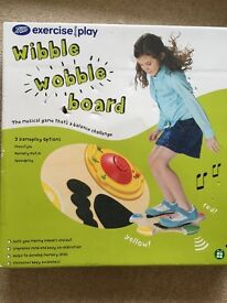 Kids Excercise balance Boots Wibble Wobble Board with music and sound