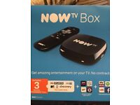 Now tv box with 3 months entertainment pass free worth £15 alone.