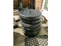 6 x 10kg weight places