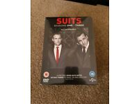 Suits season 1-3 new sealed dvd