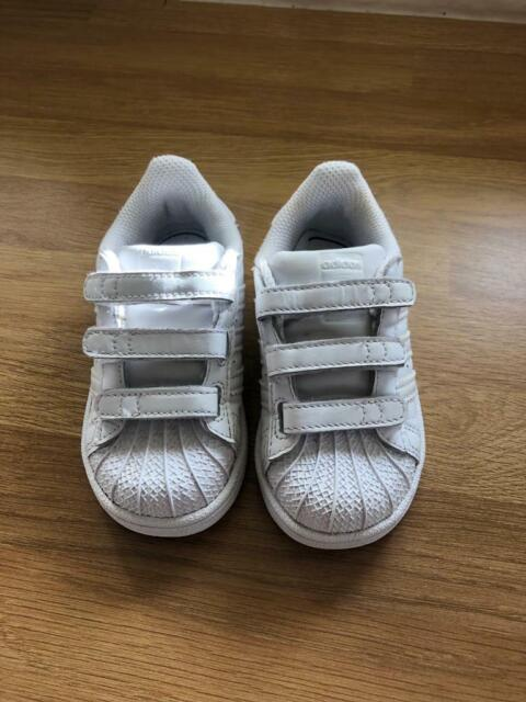 new arrival 072c0 cff30 Adidas Superstars infant size 6 | in Sutton-in-Ashfield, Nottinghamshire |  Gumtree