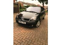 2004 Renault Clio, 1.2L, New MoT, no advisories, all new tyres