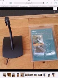 BOSE UTS-20 W (UT20) ORIGINAL SPEAKER TABLE STAND BRACKET Black