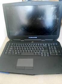 Alienware 17 R3 spares or repairs