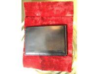 Genuine leather Cash/Credit Cards Wallet by Italian brand Salvatore Ferragamo.