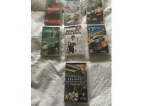 PSP games (cases only)