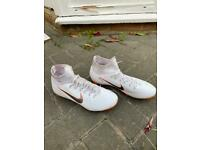 Nike ACC football boots white size 6