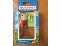 Sylvanian field mouse baby