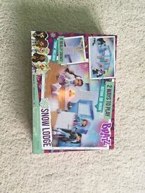 BNIB BRATZ snow lodge