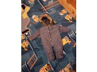 For Sale Hooded All In One Snowsuit 6 - 9 Months