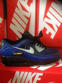 NIKE AIR MAX 90 (Drk Blue/Grey)