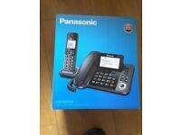 Panasonic corded and cordless phone