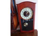 Seiko Quartz Pendulum Wall Clock