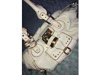 Cream leather Chloe handbag