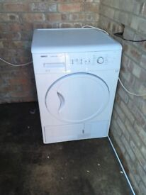 Condenser tumble dryer about a year old, little use, moving house so haven't got the room for it,