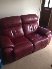 Two Seater Recliner Sofa t