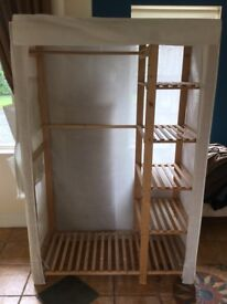 Polcotten and Pine Wardrobe
