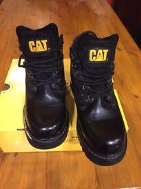 Men's cat ankle boots size 8