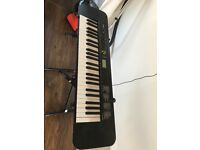 Casio piano ctk 240 with stand like new for sale