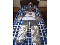 Knight costume aged 10 to 12 years