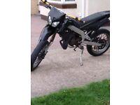 Derbi senda r 50cc with 70cc piston
