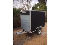 Tow Box Van Trailer - WATERTIGHT / NO LEAKS - READY FOR THE ROAD