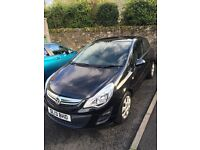 **2013 Vauxhall Corsa Exclusiv AC 1.2 Petrol