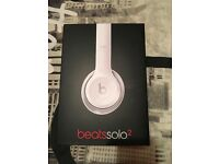 White Beats by Dr Dre, only used twice, Half price!!