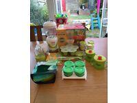 Baby Weaning Bundle Including Baby Blender Starter Set Worth Over £70