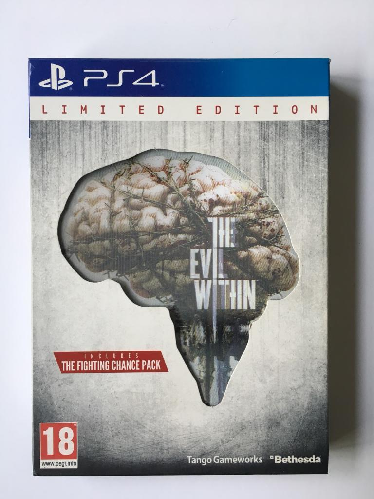 The Evil Within limited edition PS4 used