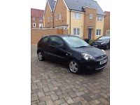 (2006) 3dr Black Ford Fiesta 1.25 Zetec Climate For Sale