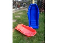 FOR SALE - Two Children's Sledges