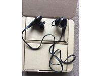 New in box QCY bluetooth earphones