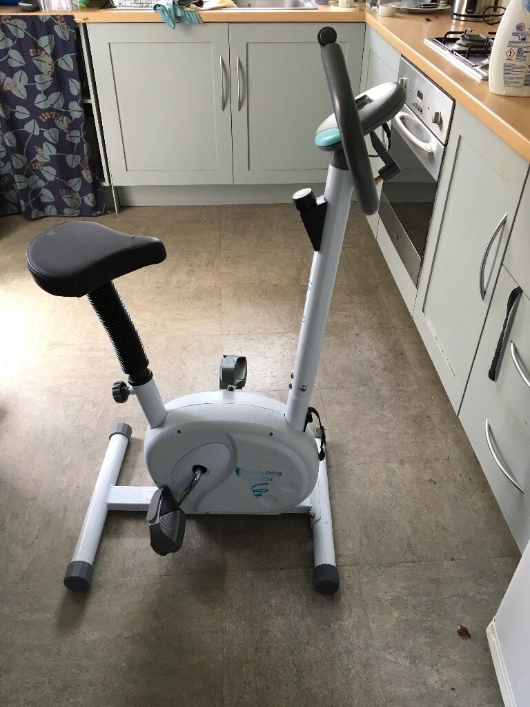 Exercise bike by healthy livingin Watford, HertfordshireGumtree - Exercise Bike Model number 153 Healthy Living. You can measure distance, speed, calories burned etc. Battery operated screen as in pictures
