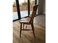 4 x Pine Farmhouse Chairs for sale