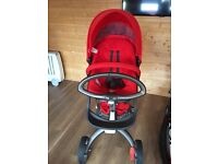 Stokke pram set - excellent condition