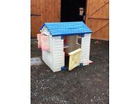 Child's little tikes outdoor playhouse