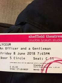 Officer And A Gentleman Lyceum Tickets