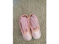 Ballerina dresses and leather ballet shoes