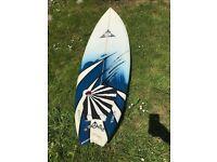 "O'Shea Fish Surfboard - Epoxy - 6ft 5"" with O'Shea surfboard bag"