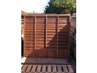 Good quality fence panels at a fraction of the retail price